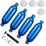 Shoreline Marine Inflatable Fender 6.5 X 23 Wht