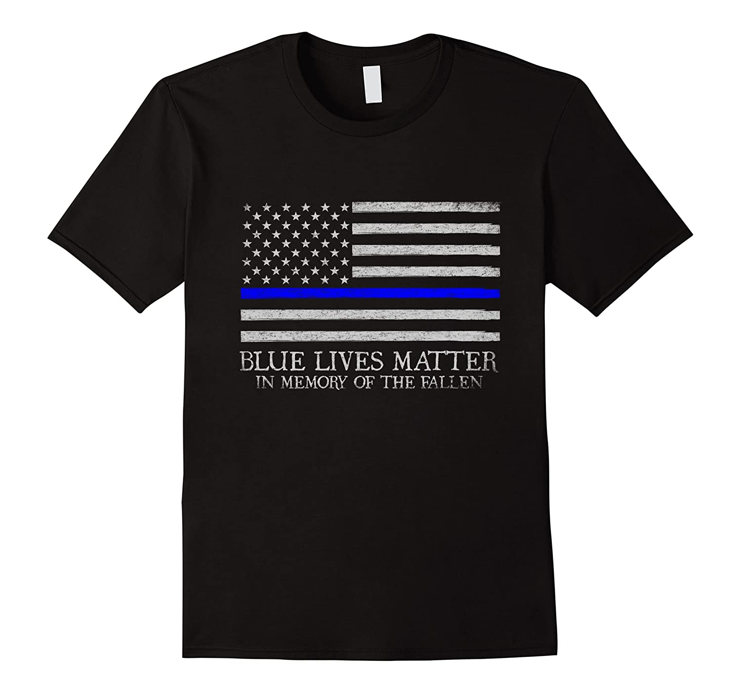 Blue Lives Matter In Memory of The Fallen-RT