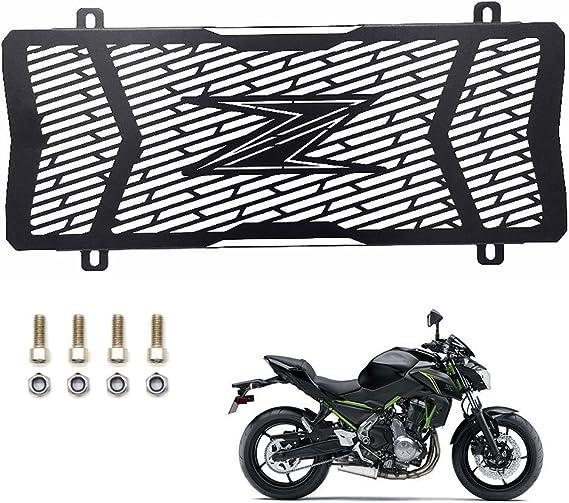 Z650 Motorrad Edelstahl Kühlerschutzgitter Schutzgitter Kühlergitter Wasserkühler Radiator Guard Grille Für Kawasaki Z650 Z 650 2017 Auto