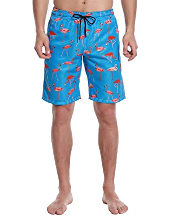 f4a10e17fa725 Justay Mens Swim Trunks Quick Dry Board Shorts Bathing Suits Swimsuits  Beachwear with Mesh Lining | Amazon.com