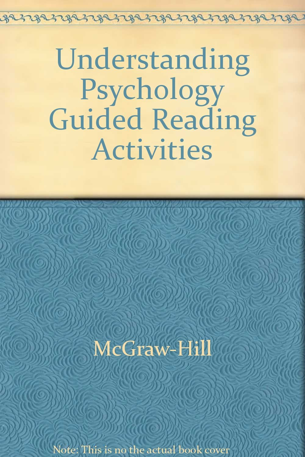 understanding psychology guided reading activities mcgraw hill rh amazon com Guided Reading Printables Guided Reading Groups