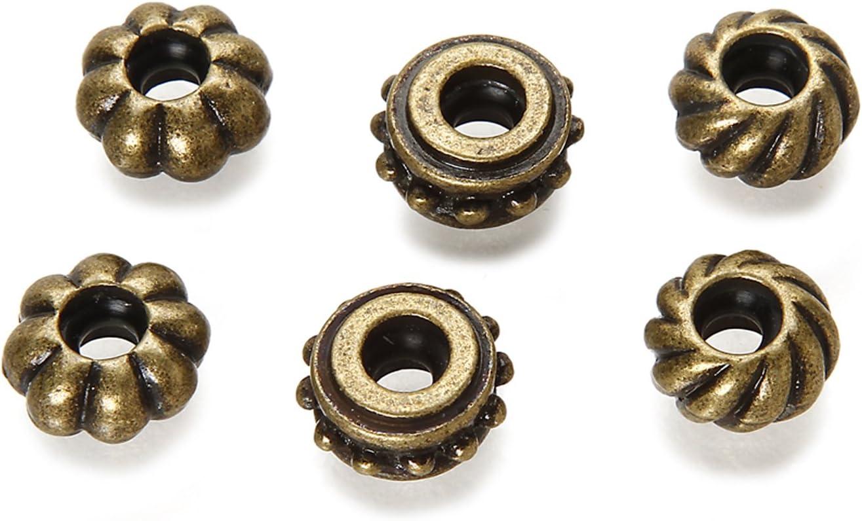 8 Packs Mix and Mingle Metal Bead Charms