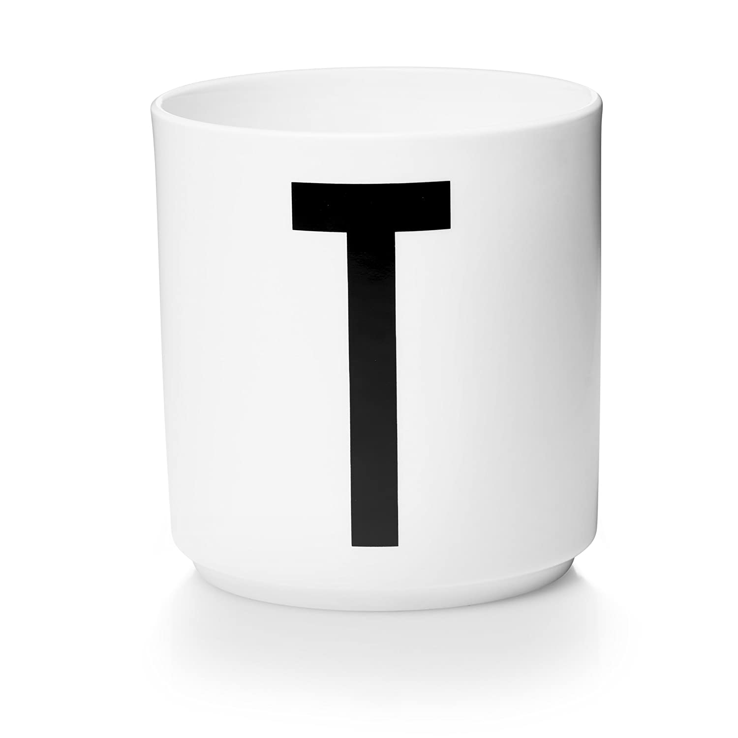 DESIGN LETTERS Letter S Fine Bone China Porcelain Cup for Home, Office & Personalised Gifts 10039 571049872019 652