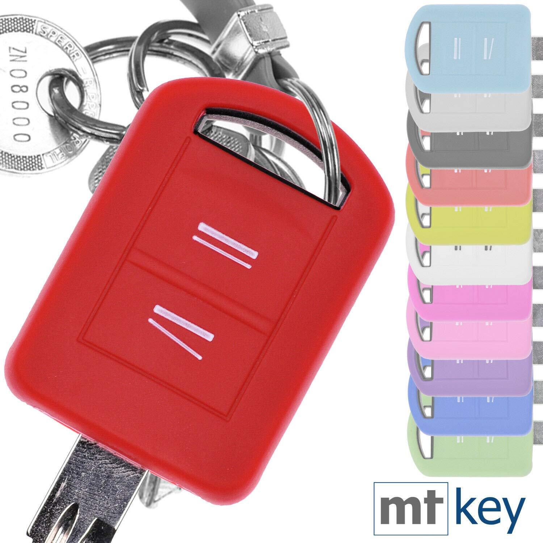 Key Soft Case Cover Capot de Protection cl/é de Voiture Opel Corsa C Combo C Meriva Tigra TwinTop A//Couleur Noir