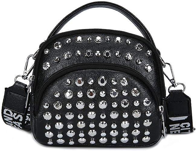Amazon.com: Bolsas pequeñas para mujer de piel con bandolera ...