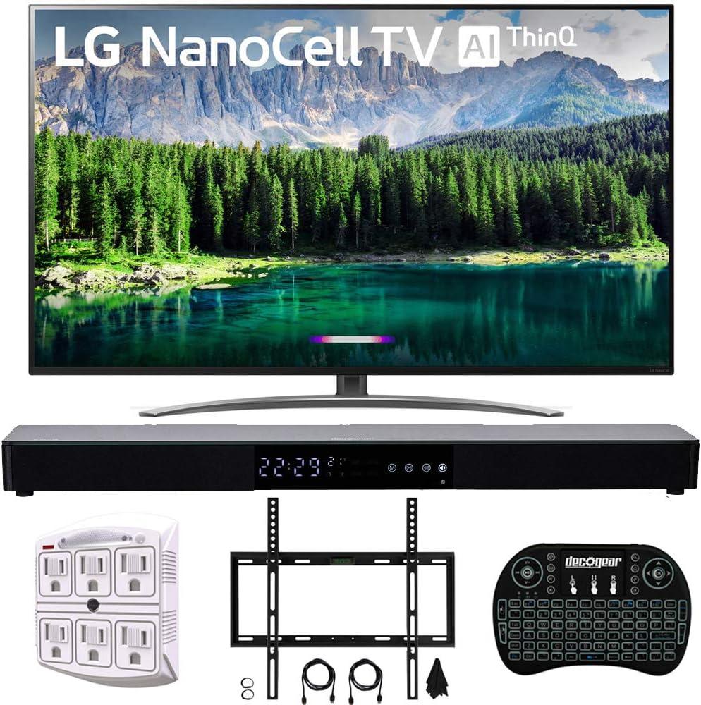 LG 4K HDR Smart LED NanoCell TV w/AI ThinQ 2019 Modelo con Home Theater 31