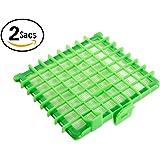 2 Sacs ZR002901 Filtre HEPA pour Rowenta Aspirateur H13 Silence Force - Techypro®
