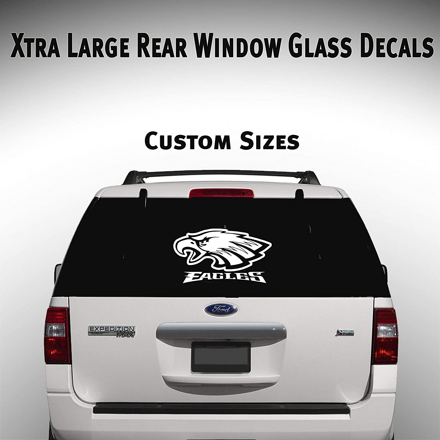 Amazon com philadelphia eagles car suv truck window decal graphic sticker nfl fan super bowl football handmade