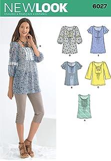 Amazon Com Simplicity Learn To Sew Pattern 2147 Misses Mini Dress