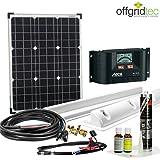 Offgridtec Solaranlage für Wohnwagen 50 Watt / 12 V - Komplett-Set für Wohnmobil, 50W 002720