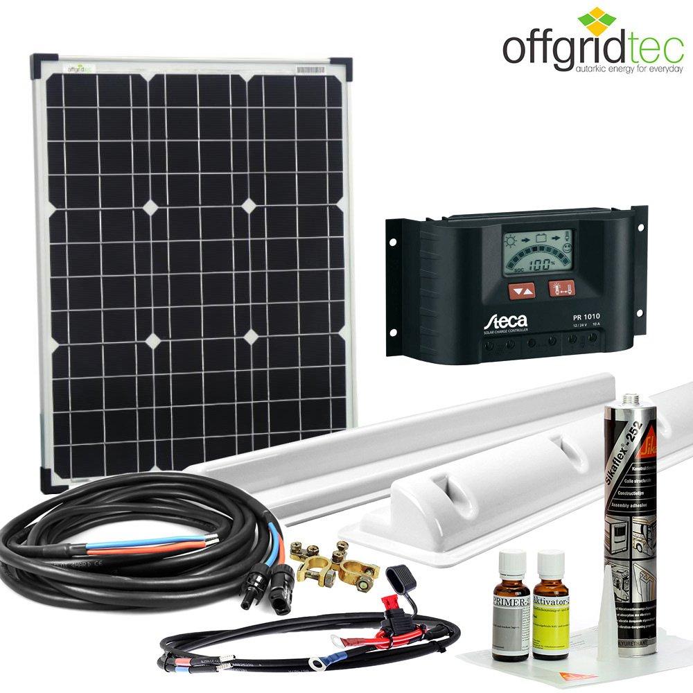 Wohnmobil Solar Set 50Wp/12v – komplett
