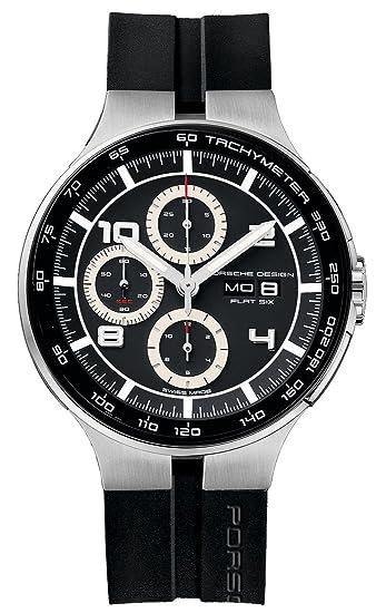 89dabc1632ce Porsche Design Flat Six Automatic Chronograph Steel   PVD Mens Watch  Calendar 6360.42.44.1254  Amazon.co.uk  Watches