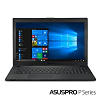 """ASUSPRO P2540UB-XB71 15.6"""" 8GB RAM 256 SSD laptop with up to 9 hours of battery life*, Intel® Core™ i7-8550U Processor, TPM and Fingerprint security, NVIDIA GeForce MX110, and Windows 10 Professional."""
