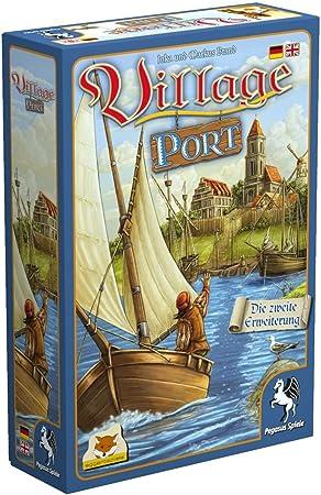 Village Port (dt. + engl. Erweiterung): Amazon.es: Juguetes y juegos