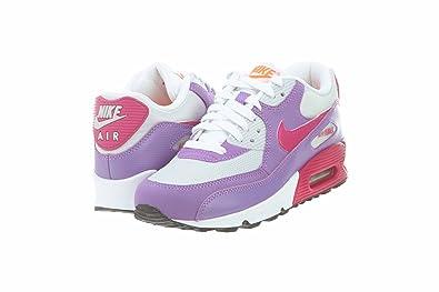 Nike Air Max 90 2007 (GS) Girls Running Shoes 345017 016