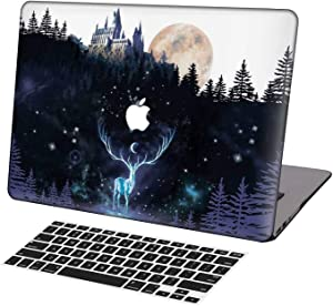 KSK KAISHEK Laptop Case for 2016-2020 Release MacBook Pro 13 Inch Model:A2289/A2251/A2159/A1989/A1706/A1708,Plastic Ultra Slim Light Hard Shell Keyboard Cover,Harry Potter Hogwarts
