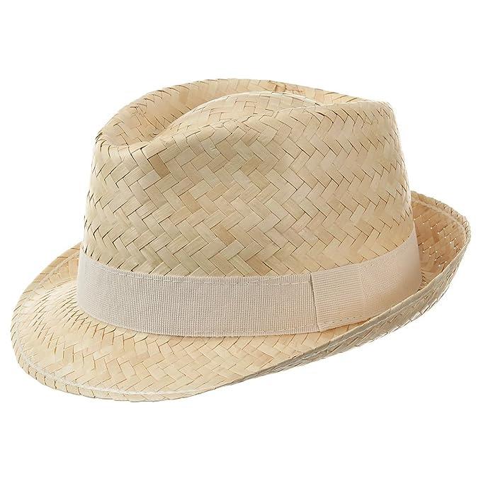 Sombrero de Paja Valencia Trilby sombreros de pajasombreros de verano   Amazon.es  Ropa y accesorios a6b49852dcf