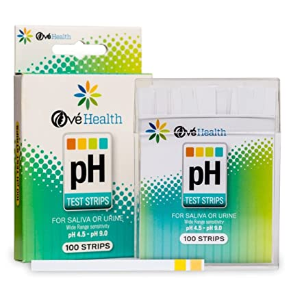 Amazon com : 100 Ct Greatest Popular pH Healthy Test Strips Balance