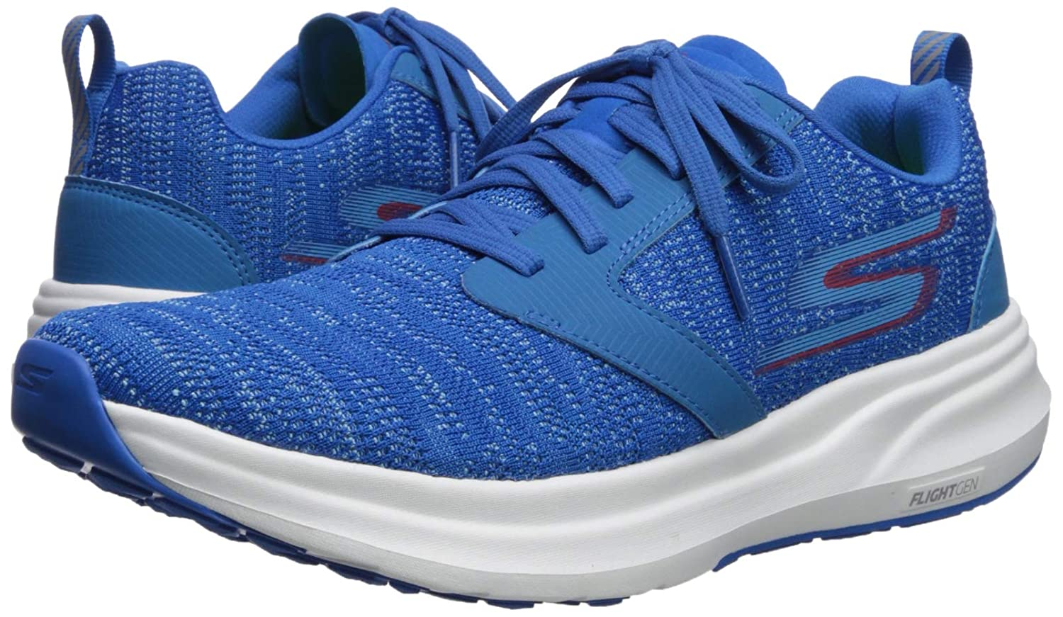 Skechers55200 - Go Run Ride 7 Herren, Blau Blau Blau (Royal rot), 40 EU D(M) c8f477