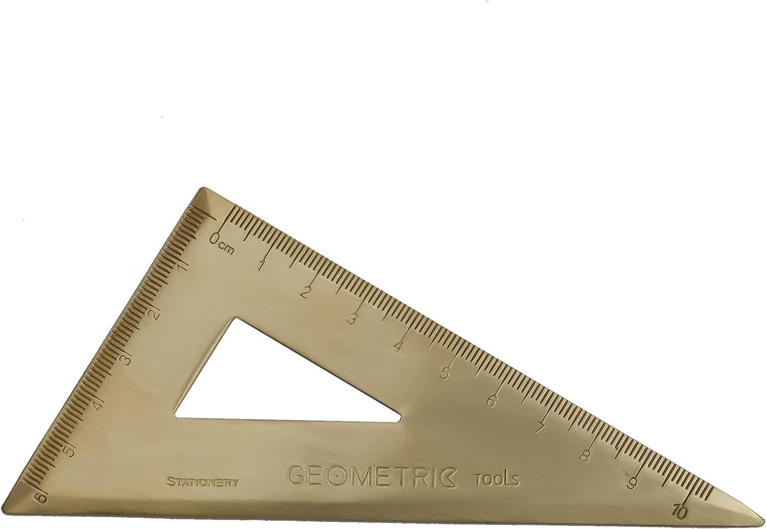 Student Ruler Sets Stationery Drawing Square Triangle Ruler Study Measure Gift 2