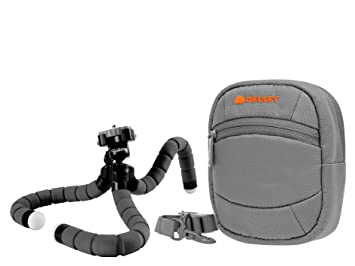 Fototasche f Nikon Coolpix A300 Kameras Umhängetasche Gürteltasche