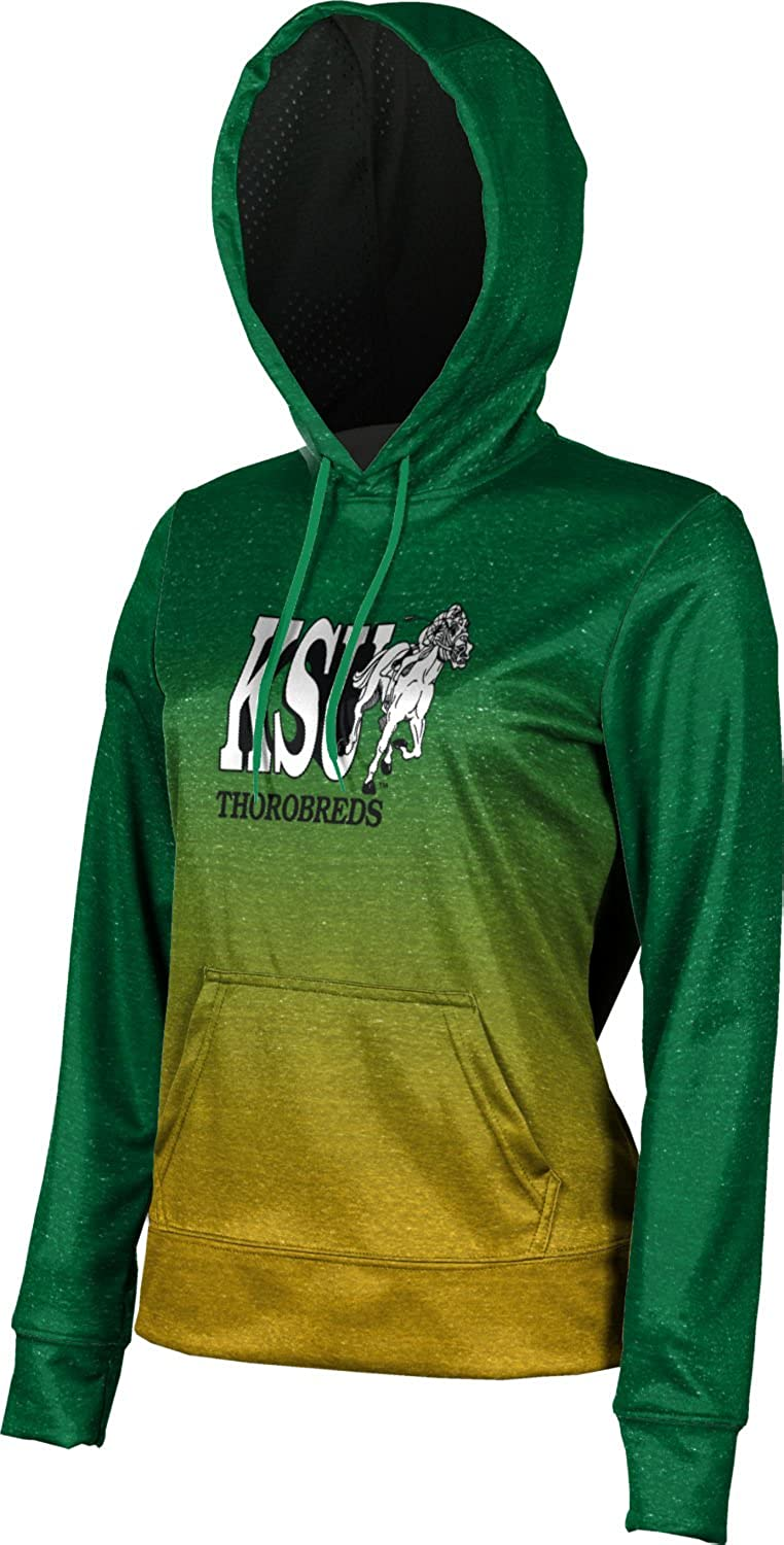 Ombre Kentucky State University Girls Pullover Hoodie School Spirit Sweatshirt