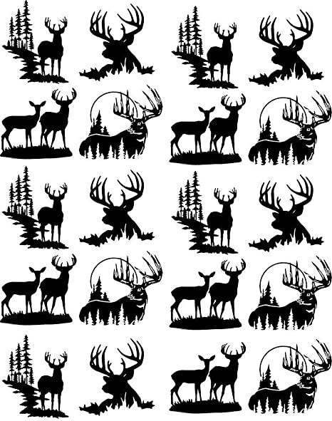 Summer Trees Waterslide Decal 48376 Choose Either Ceramic to Choose from Ceramic Decal Images Enamel Decal Enamel or Glass Fusing Decals 3 Different Size Sheet Glass Decal
