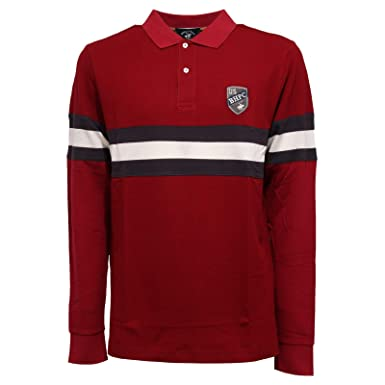 Beverly Hills Polo Club 3995K Polo uomo Red Cotton Polo t-Shirt ...