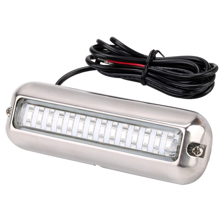 bianco Elerose 19mm 12V interruttore a pulsante metallo impermeabile autobloccante guscio nero LED interruttore luce pulsante ad anello