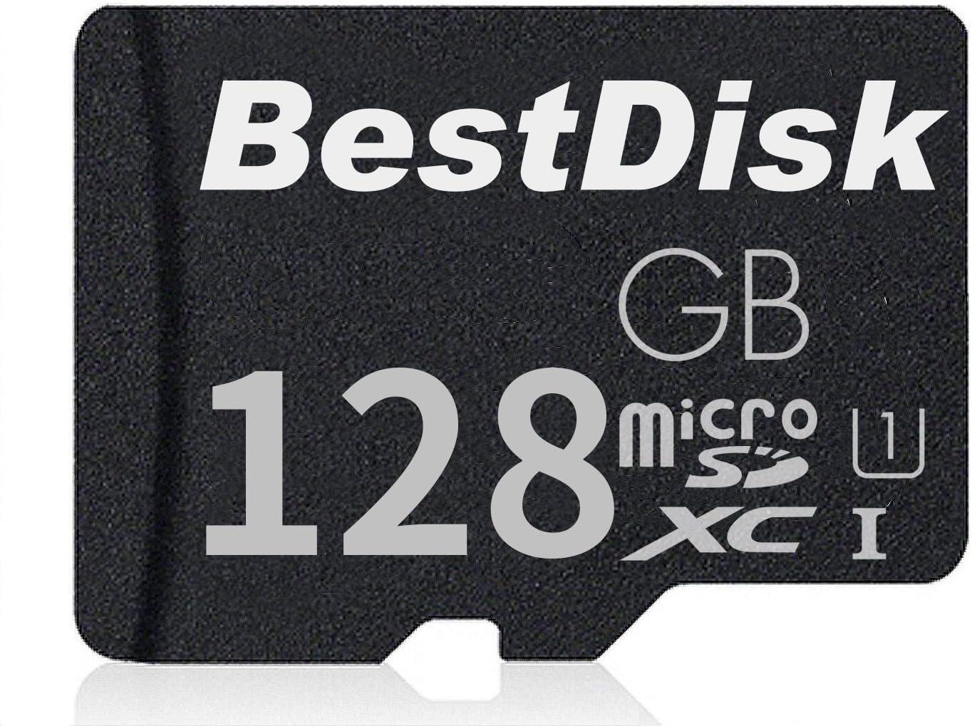 Bestdisk Micro Sd 128gb Class 10 Sdxc Memory Card Computers Accessories