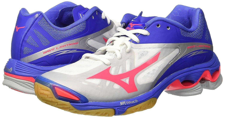 Mizuno Wave Lightning Z2Wos, zapatos de voleibol Mujer Rosa 12