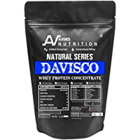 Arms Nutrition Natural Series Davisco Whey Protein Concentrate with Digestive Enzymes, Unflavoured (2lb/907g)