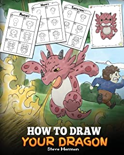 How To Draw Dragons For Kids Easy Fun Drawing Book For Kids Age 6