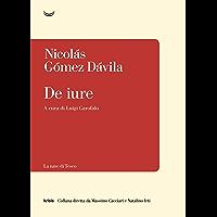 De iure (Italian Edition) book cover