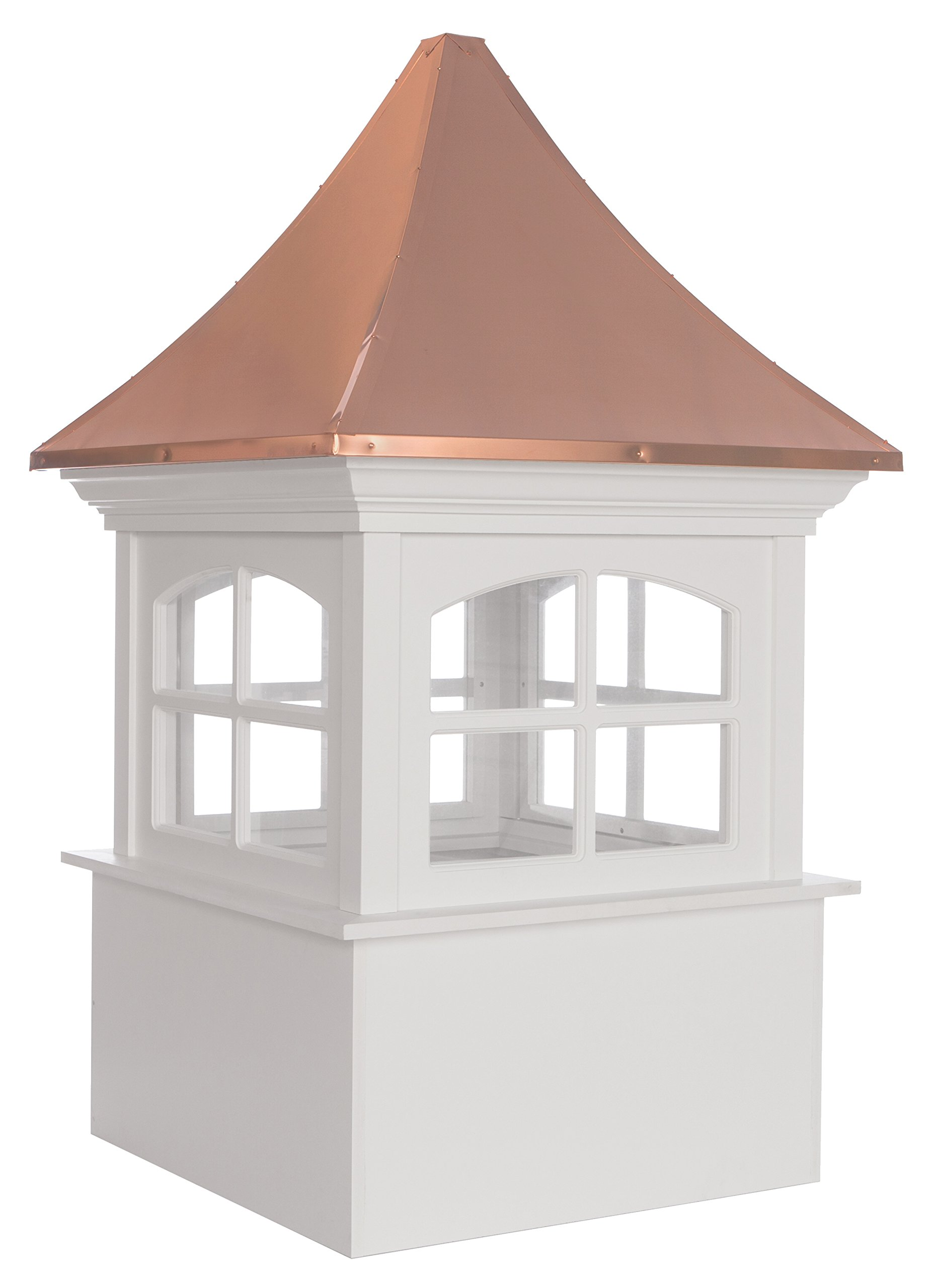 Westport Vinyl Cupola with Copper Roof 42'' x 66'' by Good Directions