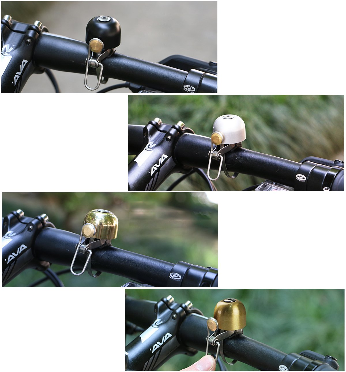 Pioneeryao Bell for Bike Bike Bicycle Bell for Road Bike Mountain Bike BMX Bikes