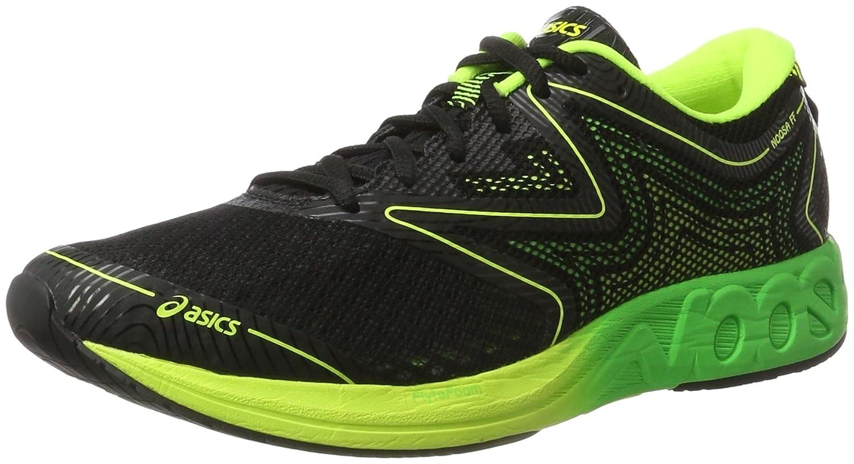 Asics T722n 9085, Zapatillas de Running para Hombre 42.5 EU|Negro (Black / Green Gecko / Safety Yellow)