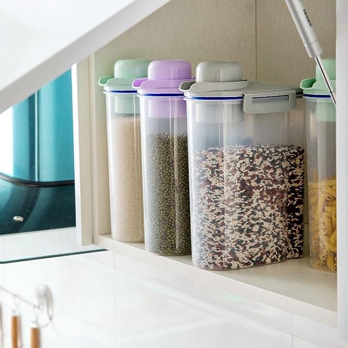 asentechuk® Transparent versiegelt Vorratsdose mit Deckel