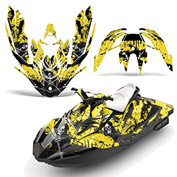 Bombardier SeaDoo Spark 3Up Rotax 2015+ Decal Graphic Kit