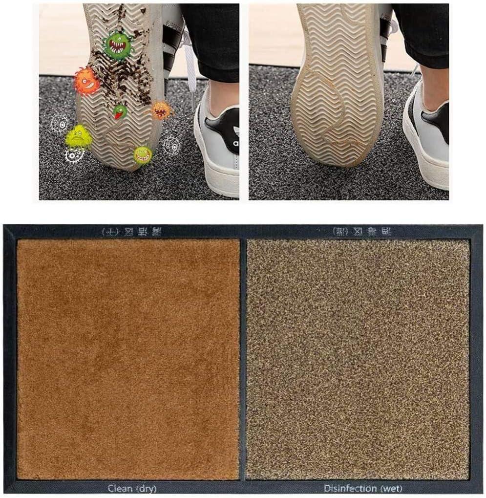 yumeng Alfombra Limpia Zapatos desinfectantes para Limpieza