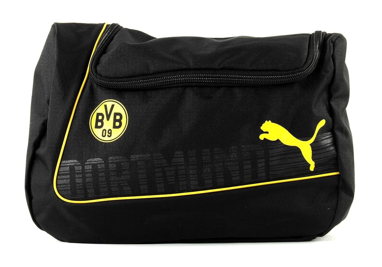 Puma Kulturbeutel BVB evoPOWER Wash Bag Borussia Dortmund BVB 073917 01 PUMAE|#PUMA