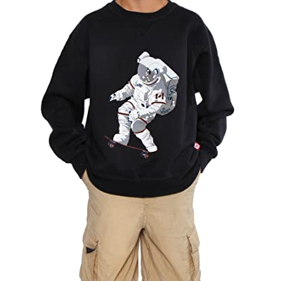 60°N 95°W Boy's Official Chris Hadfield Skateboarding Astronaut Sweater