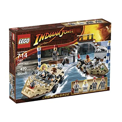 LEGO Indiana Jones Venice Canal Chase (7197): Toys & Games