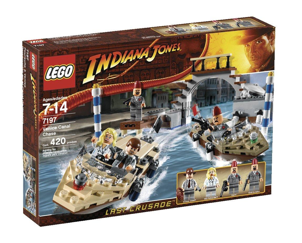 LEGO Indiana Jones Venice Canal Chase 4548218 7197