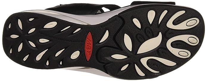 Qdcthrxs Neri Donna Punta Kace Mbt Sandali Shoes W Aperta Amazon Plateau D2WEH9I