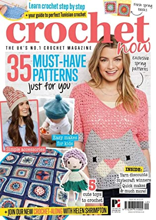 Amazoncom Crochet Now Magazine Kindle Store