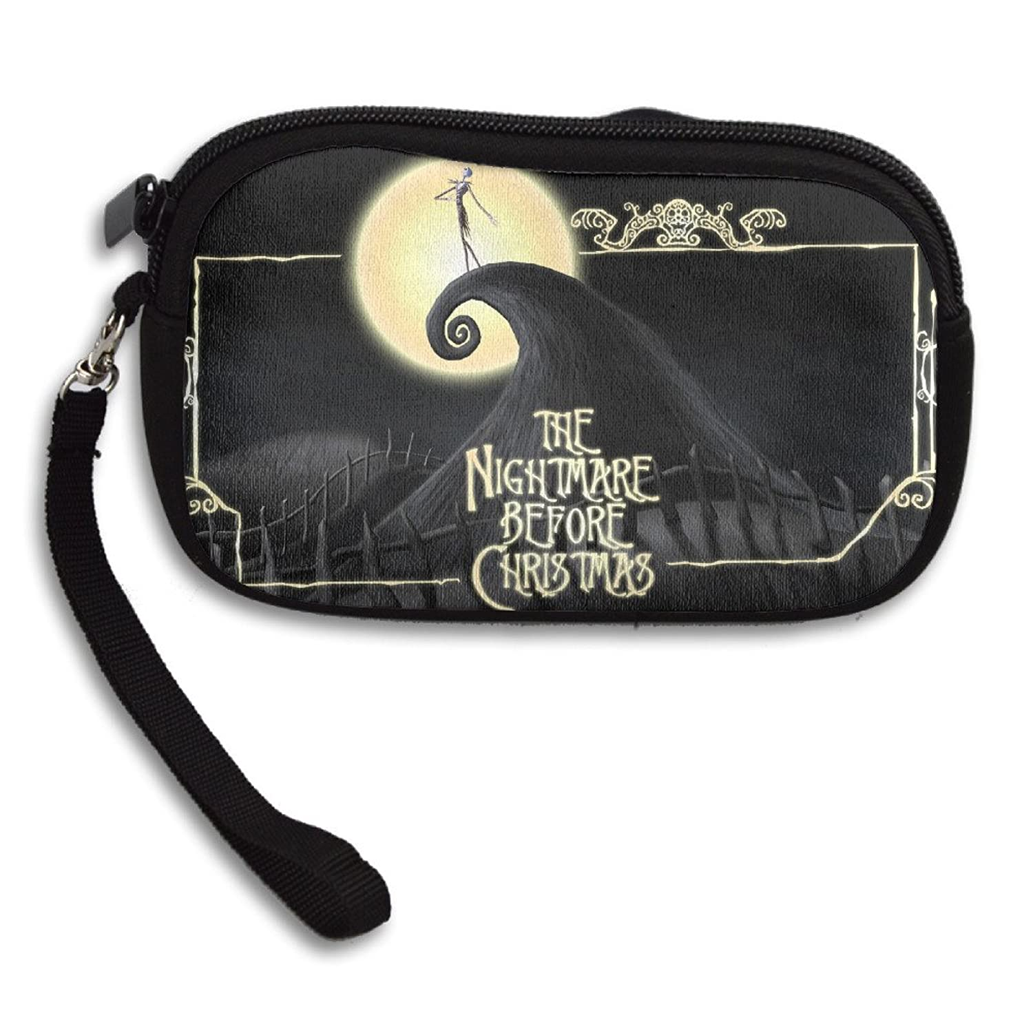 Amazon.com: YukiXD The Nightmare Before Christmas Coin Purse Wallet ...