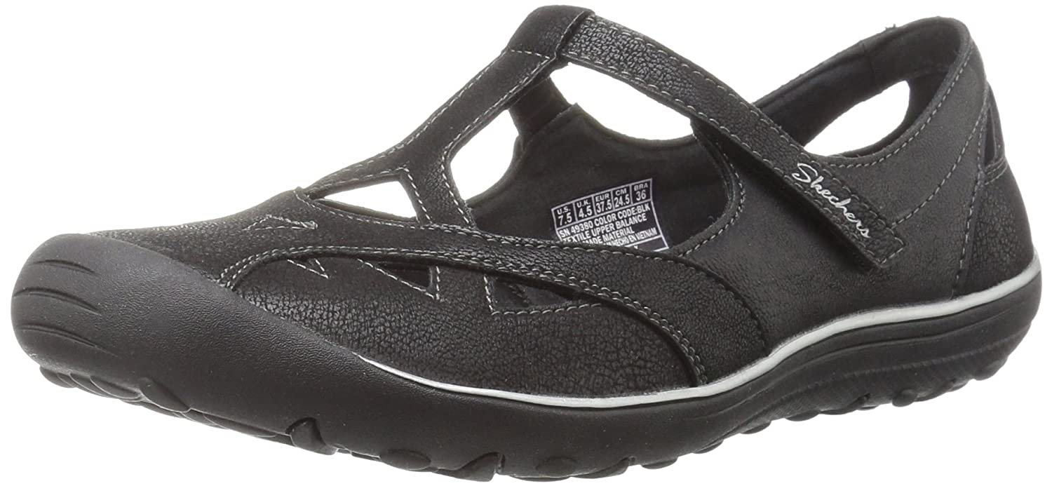 Skechers Women's Earth Fest-Gardenia Flat