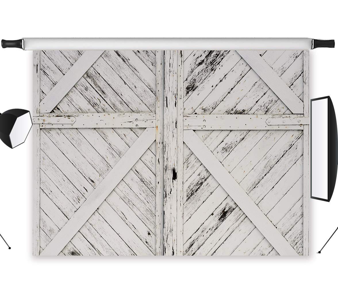 Amazon Lb Rustic Barn Door Backdrops For Photography 9x6ft