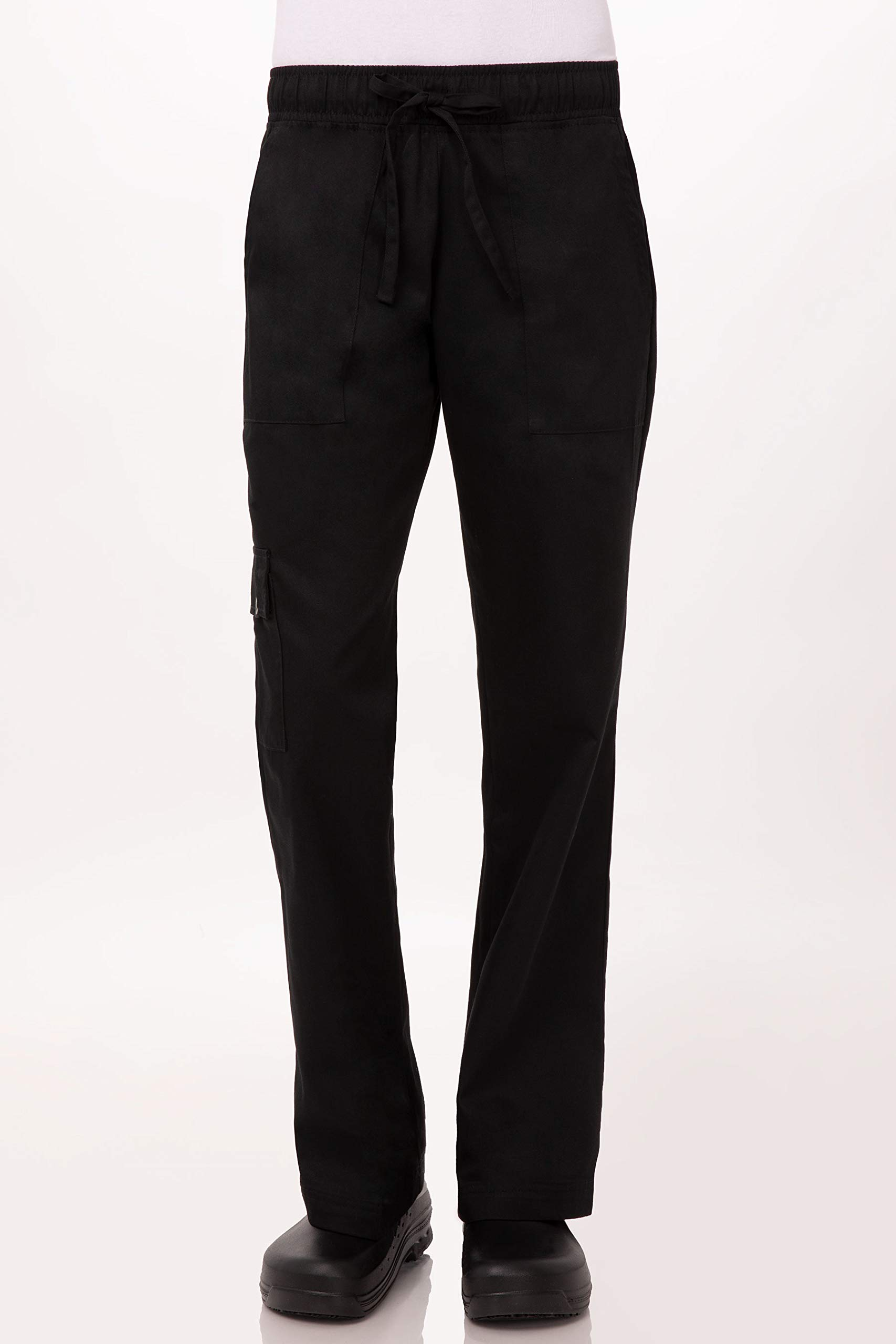 Chef Works Women's Chef Pants, Black, Small by Chef Works
